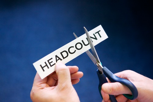 Headcount reduction